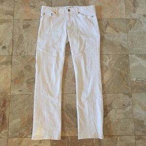 """Lilly Pulitzer White """"Palm Beach Fit"""" Jeans"""